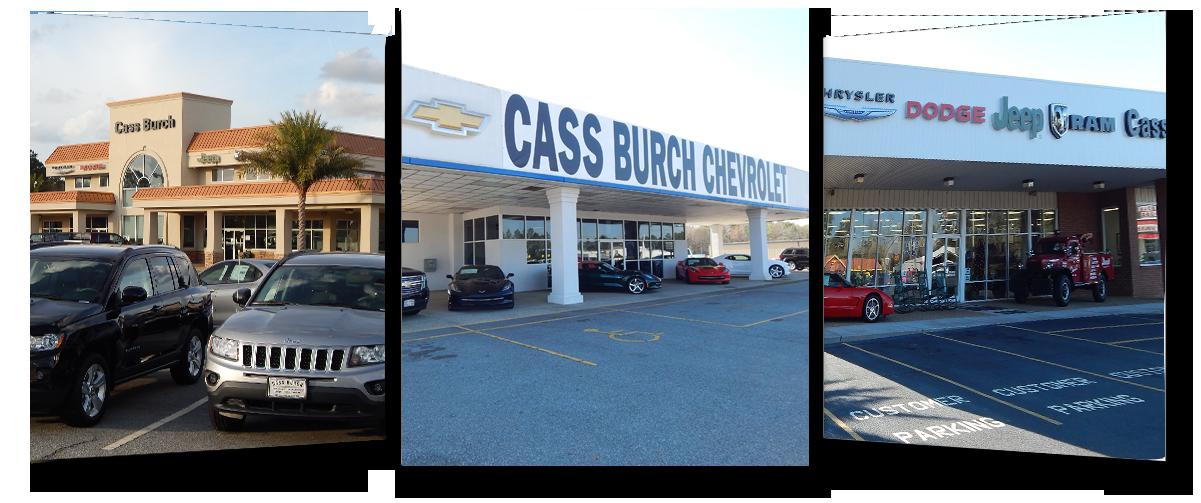 Cass Burch Automotive New Chevrolet Dodge Chrysler Jeep Ram - Chrysler dodge jeep ram dealership